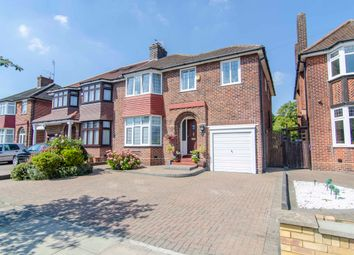 Thumbnail 4 bed semi-detached house for sale in Oakwood Park Road, Southgate