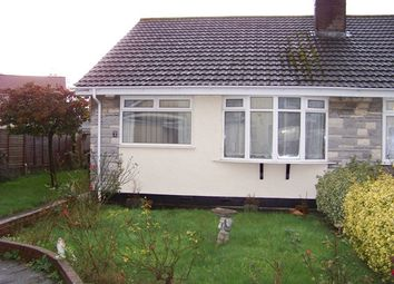 Thumbnail 2 bed semi-detached bungalow to rent in Blenheim Close, Worle, Weston-Super-Mare