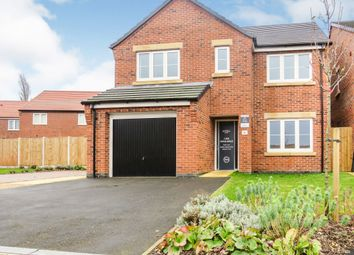 Thumbnail 4 bed detached house for sale in The Oaks, Greylees, Sleaford