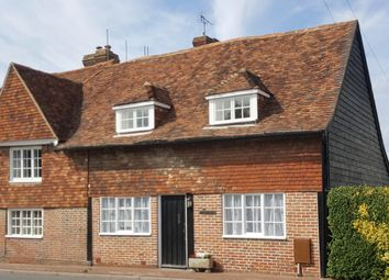 Thumbnail 3 bed cottage for sale in The Street, Sissinghurst, Cranbrook