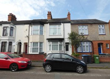 Thumbnail 3 bed terraced house for sale in Kimberley Road, Rugby