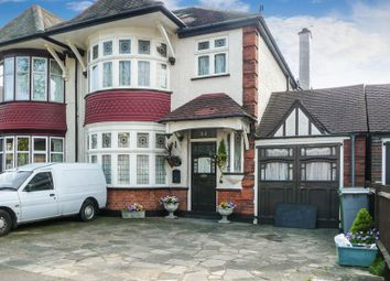 Thumbnail 5 bed semi-detached house to rent in Churchill Avenue, Kenton, Harrow