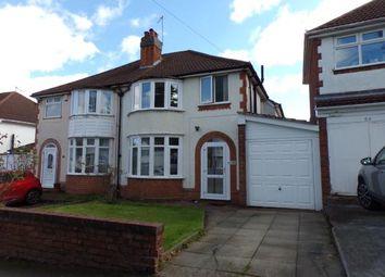 Thumbnail 3 bedroom semi-detached house for sale in Sheringham Road, Kings Norton, Birmingham, West Midlands