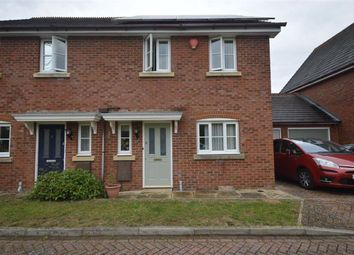 Thumbnail 3 bed semi-detached house to rent in Faustina Drive, Ashford, Kent
