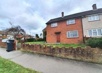 Thumbnail 3 bed semi-detached house for sale in Pirbright Crescent, New Addington, Croydon