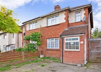 Thumbnail 3 bed semi-detached house for sale in Lancelot Avenue, Strood, Rochester, Kent