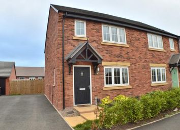 Thumbnail 3 bed semi-detached house for sale in Oak Way, Streethay, Lichfield, Staffordshire
