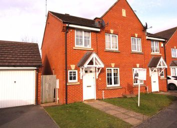 Thumbnail 3 bed semi-detached house to rent in Aqua Place, Rugby