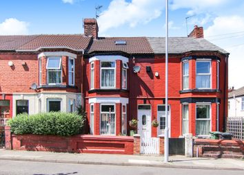 Thumbnail 3 bedroom terraced house for sale in Derby Road, Tranmere, Birkenhead