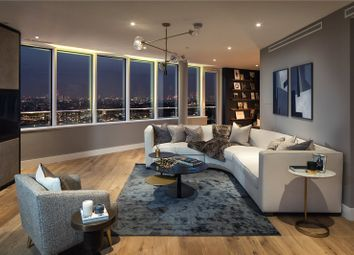 Thumbnail 3 bedroom flat for sale in Lombard Wharf, Battersea, London