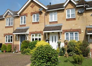Thumbnail 2 bed terraced house for sale in Bland Drive, Hawkinge, Folkestone