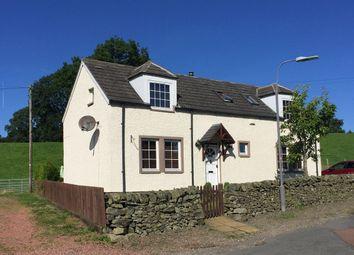 Thumbnail 4 bed cottage for sale in Braefoot Cottage, Skirling, Biggar
