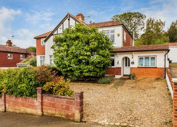 Thumbnail 3 bed semi-detached house for sale in Rickman Hill, Chipstead, Coulsdon