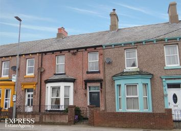 Thumbnail 3 bed terraced house for sale in Waver Terrace, Abbeytown, Wigton, Cumbria