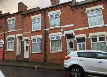 Thumbnail 3 bedroom terraced house for sale in Egginton Street, Leicester