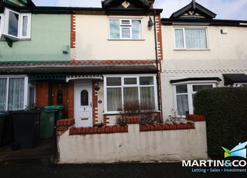 Thumbnail 2 bed terraced house to rent in Dunsford Road, Bearwood