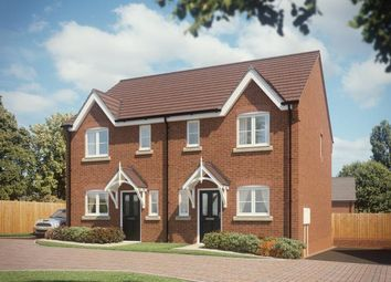 Thumbnail 1 bedroom semi-detached house for sale in Synehurst Avenue, Evesham, Worcestershire
