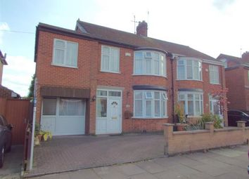 Thumbnail 4 bed semi-detached house for sale in Northdene Road, Leicester, Leicestershire