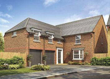 "Thumbnail 5 bedroom detached house for sale in ""Oulton"" at New Road, Tankersley, Barnsley"