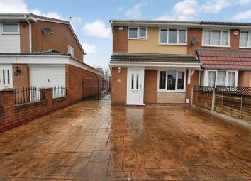 Thumbnail 3 bed semi-detached house for sale in Hereford Crescent, Little Lever, Bolton