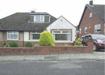 Thumbnail 3 bed semi-detached bungalow to rent in Holden Avenue, Bury, Greater Manchester
