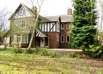 Thumbnail 7 bed detached house for sale in Beach Road, Hartford, Northwich, Cheshire