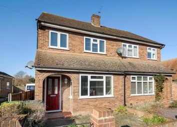 Thumbnail 3 bed semi-detached house to rent in Wood Road, Shepperton