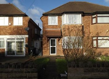 Thumbnail 3 bed semi-detached house for sale in Maryland Avenue, Birmingham, West Midlands