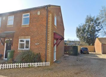 Thumbnail 2 bedroom end terrace house for sale in Sutton Close, Portsmouth