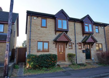 Thumbnail 3 bed semi-detached house for sale in Burgess Road, Waterbeach, Cambridge