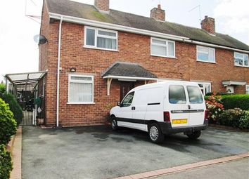 Thumbnail 3 bed semi-detached house for sale in Birchdale, Madeley, Crewe