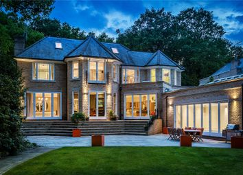 Thumbnail 7 bed detached house for sale in Burwood Park, Walton-On-Thames, Surrey