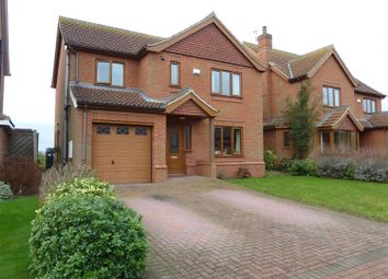 Thumbnail 4 bedroom detached house for sale in Swaby Close, Marshchapel, Grimsby