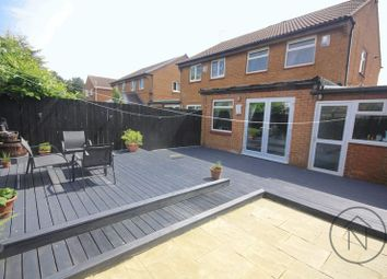 Thumbnail 3 bed semi-detached house for sale in Wansford Close, Billingham