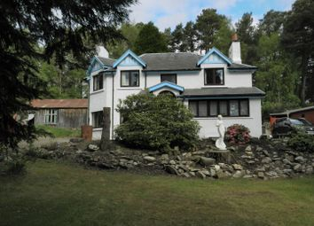 Thumbnail 5 bed detached house for sale in Station Road, Carrbridge