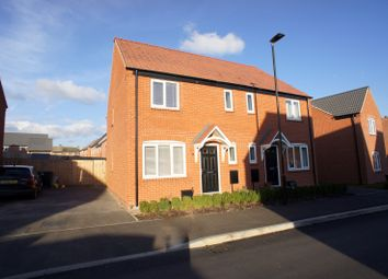 Thumbnail 3 bed semi-detached house to rent in Kingsgate Road, Chellaston, Derby