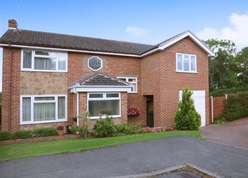 Thumbnail 4 bed detached house for sale in Hazel Close, Derby
