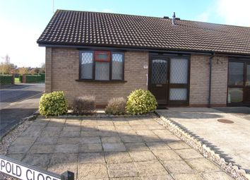 Thumbnail 1 bed semi-detached bungalow to rent in Leopold Close, Scunthorpe, Lincolnshire