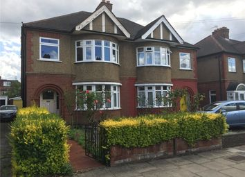 Thumbnail 3 bed semi-detached house for sale in Vicars Close, Enfield