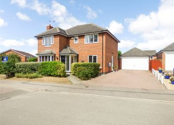 Thumbnail 4 bed detached house for sale in Geveze Way, Broughton Astley, Leicester, Leicestershire