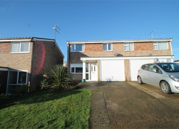 Thumbnail 3 bed semi-detached house for sale in Holcombe Crescent, Ipswich, Suffolk