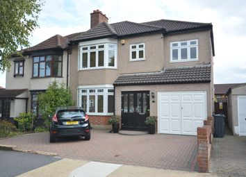 Thumbnail 5 bed semi-detached house for sale in Rosslyn Avenue, Harold Wood