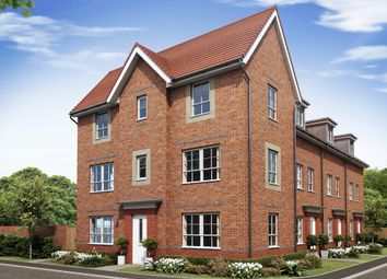 "Thumbnail 3 bed end terrace house for sale in ""Brentford"" at Morganstown, Cardiff"