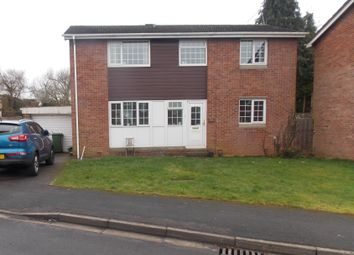 Thumbnail 4 bed detached house to rent in Oakdale Court, Downend