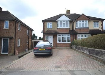 Thumbnail 3 bed semi-detached house for sale in Orchard Way, Aldershot, Hampshire