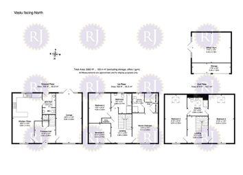 Thumbnail 5 bed detached house for sale in Tennant Close, Grange Farm, Milton Keynes