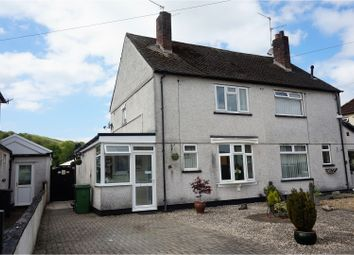 Thumbnail 2 bed semi-detached house for sale in Heol Berry, Cardiff