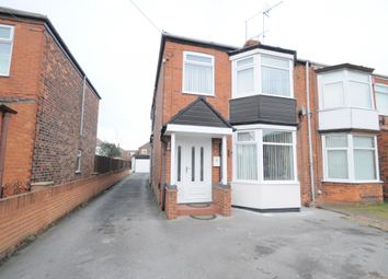 Thumbnail 3 bed semi-detached house for sale in Riversdale Road, Hull, East Riding Of Yorkshire