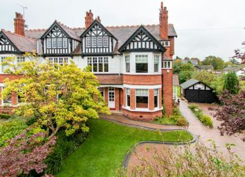 Thumbnail 7 bed semi-detached house for sale in Park Road, Hale, Altrincham