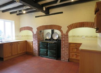Thumbnail 4 bed detached house to rent in Brunswood Lane, Bradley, Ashbourne